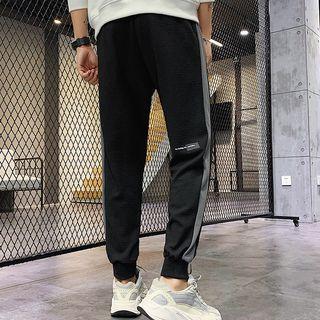 Color Panel Jogger Pants / Set