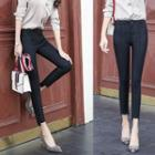 Seam Front Skinny Pants