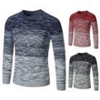 Melange Gradient Sweater