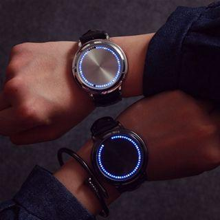 Led Touch Strap Watch