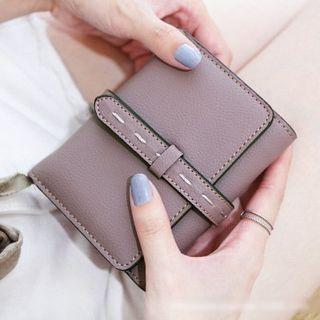 Belted Trifold Wallet