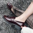 Tassel Patent Leather Loafers