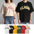 Couple Oklahoma Printed T-shirt