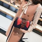 Bow Applique Crossbody Bag