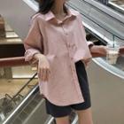 Plain Shirt Shirt - One Size