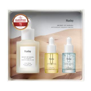 Huxley - Antioxidant Essence Limited Set: Oil Essence Essence-like Oil-like 30ml + Oil Light And More 5ml + Essence Grab Water 5ml 3pcs