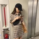 Plaid Shirt / Plaid Skirt