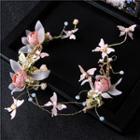 Flower & Butterfly Headpiece