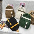 Strapped Canvas Backpack