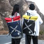 Oxford Buckled Backpack