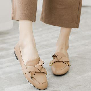 Ribbon Bow Loafers