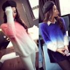 Ombre Furry Sweater