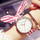 Print Cloth Strap Watch