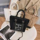 Letter Handbag