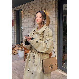 Over-fit Classic Trench Coat