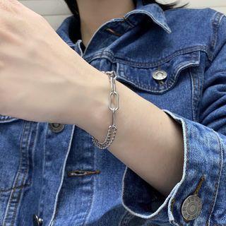 Chunky Chain Stainless Steel Bracelet