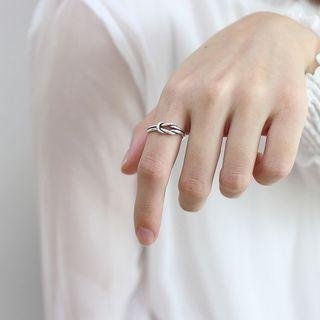 925 Silver Ring As Shown In Figure - One Size