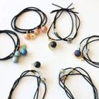 Bead / Cubic Rhinestone Hair Tie (various Designs)
