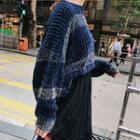 Glitter Trim Sweater