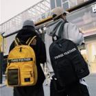 Multi-pocket Canvas Backpack