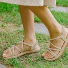 Knotted Strappy Sandals