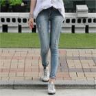 Paint-splattered Jeans