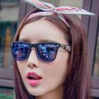 Camo Arm Square Sunglasses