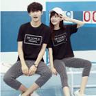Couple Matching Pants / T-shirt