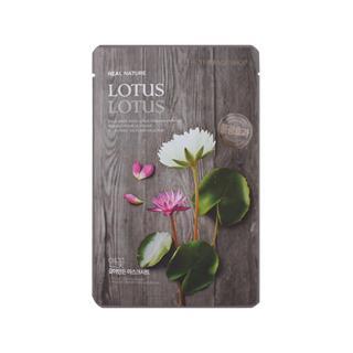 The Face Shop - Real Nature Lotus Mask Sheet 1pc