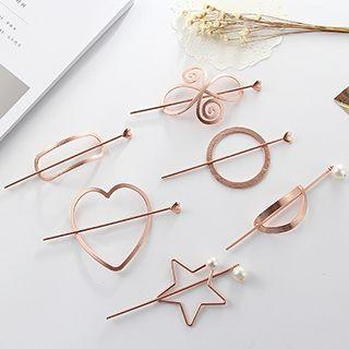 Hair Stick With Bun Cover