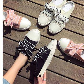 Bow Sneakers Mules