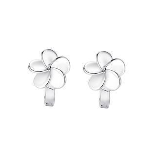 925 Sterling Silver Flower Earrings