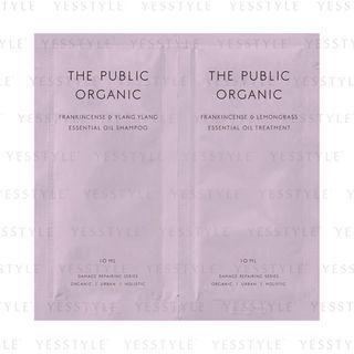 The Public Organic - Super Positive Hair Care Set 10ml X 2 Pcs