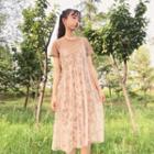 Set: T-shirt Dress + Jumper Lace Dress