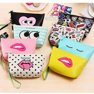 Printed Make Up Pouch