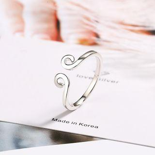 Open Ring Silver - One Size