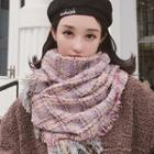 Fringed Tweed Scarf
