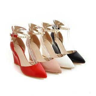 Wedge Ankle-strap Sandals