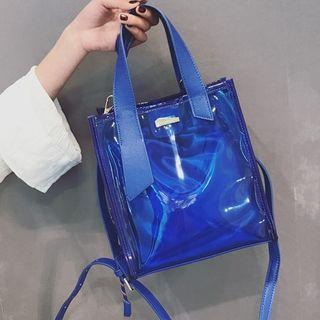 Pvc Tote With Shoulder Strap