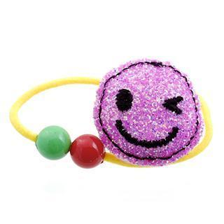 Dazzling Pink Glitter Smile Hair Band