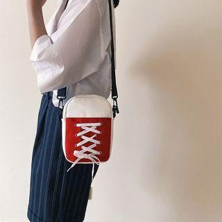 Lace Up Crossbody Bag