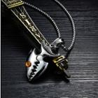 Stainless Steel Fish Pendant Necklace