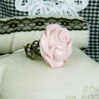 Pink Rosemary Ring