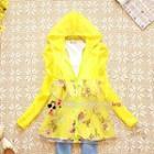Hooded Floral Jacket