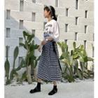 Skirt / Printed Tee