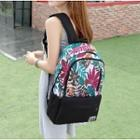 Leaf Print Backpack