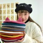 Cat Ear Knit Beret