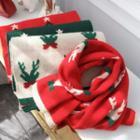 Christmas Deer Print Scarf