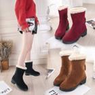 Short Boots With Tassl
