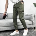Camo Printed Paneled Harem Pants